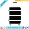 In stock hard trolley bag abs hot travel house luggage trolley bag with 4 spinner wheels