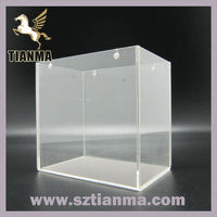 Fashionable acrylic shoes dispaly stand for store