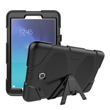 Three Layer Armor Case For Samsung Galaxy Tab E 9.6 T560 With Stand