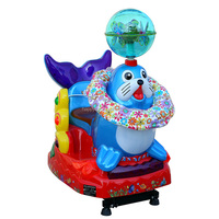 fiberglass kiddie rides coin operated plastic kids ride game machine