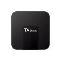 Amlogic s905w TX3 mini Android 7.1 android tv box with wifi
