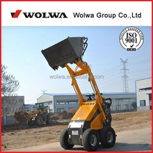 GN380 200kg load electric skid steer loader for sale