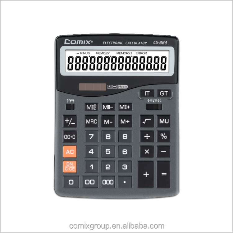 Hot sale big display 16 digits electronic citizen calculator