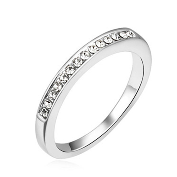 Free shipping High Quality Wedding Jewelry Ring Crystal From Swarovski