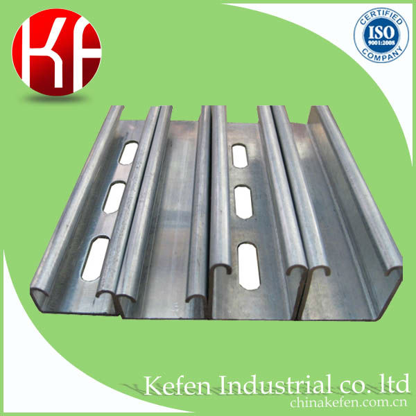 2017 electrical galvanized c channel for wire protection