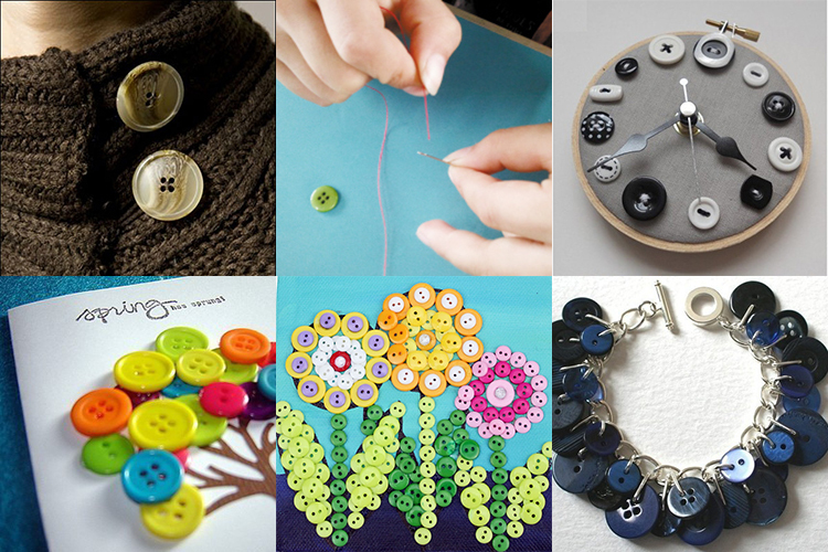 All types of custom designer clothing buttons wholesale