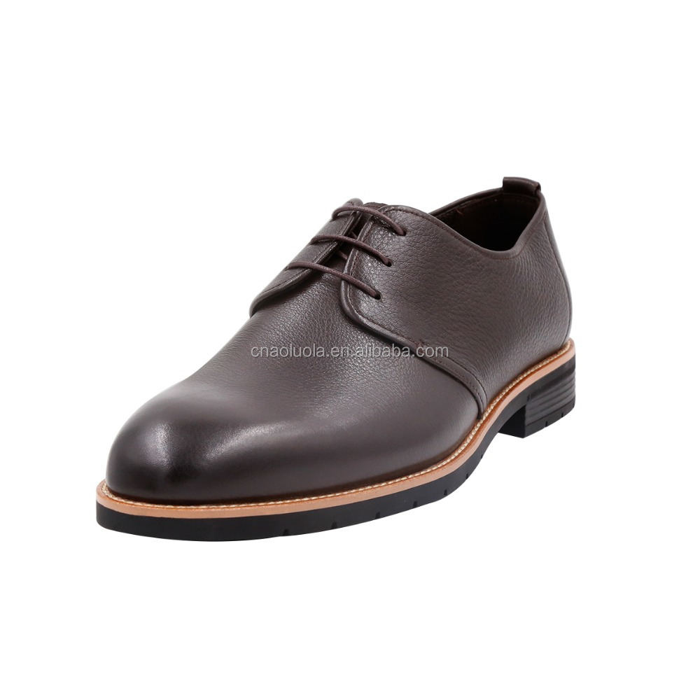 brand name lace up mens genuine leather shoes wholesale dress shoes for men