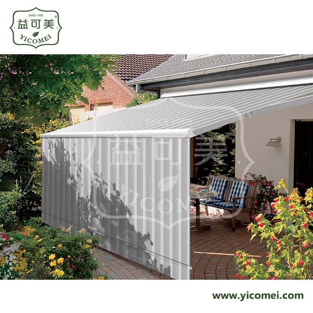 folding cassette balcony arm retractable garden awning