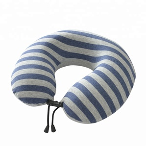 Comfortable U Shaped Camping Pillow Cushion Neck Support,Travel Pillow Memory Foam Neck Support For Train, Airplane, Car Or Bus
