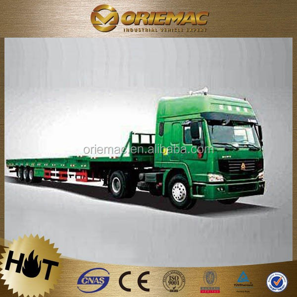 TOP Product 6x4 Diesel tri-axles cargo truck trailers for Albania, truck trailer used for sale germany