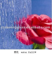 3-8mm Clear and Tinted Texture Pattern Glass with CE and ISO9001