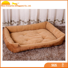 Luxury fleece dog bed washable pet mat