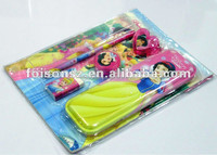 a set of famous brand tin pencil box/ pen set stationery