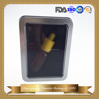 aluminum eliquid bottle tin box for display