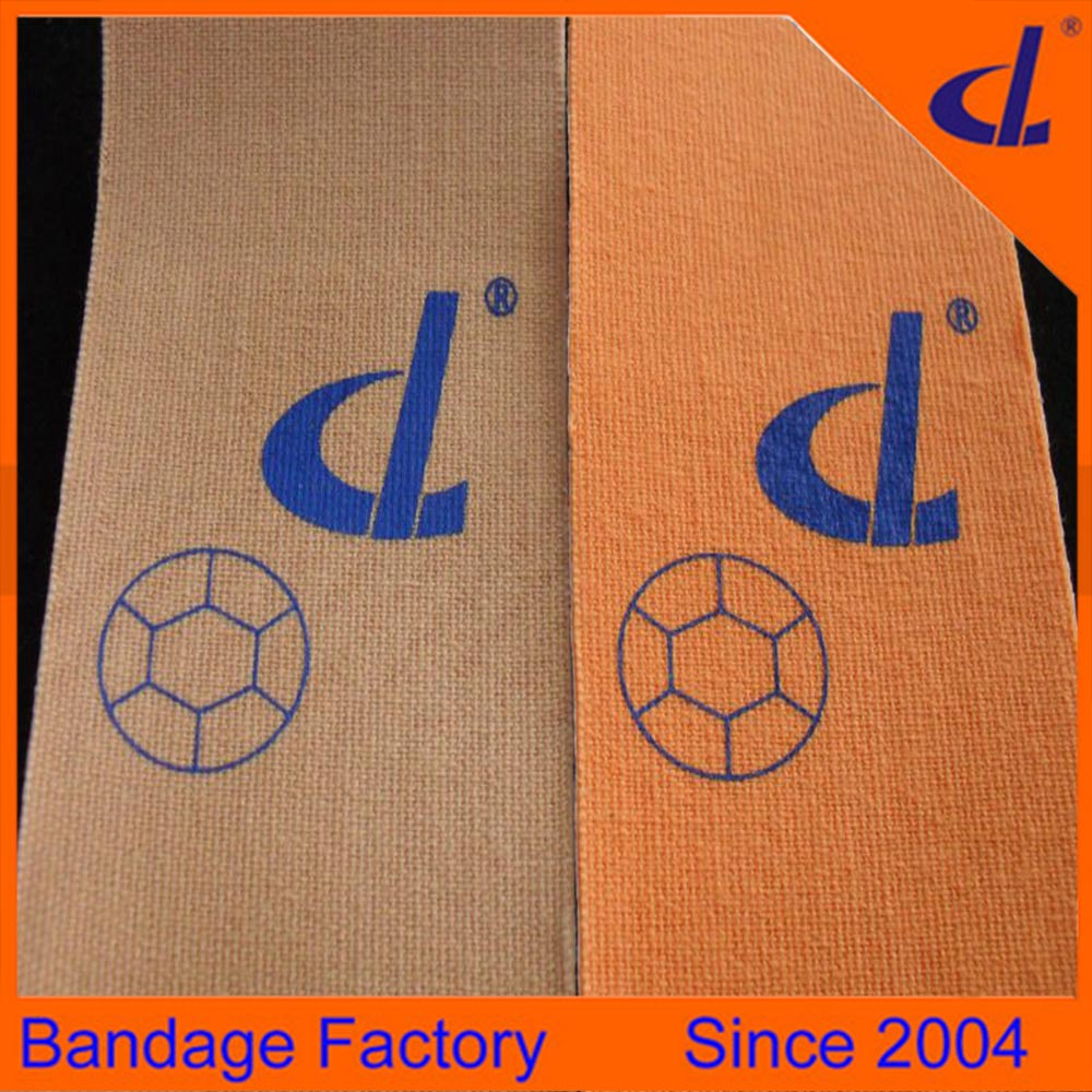 Factory direct sale first-class hypoallergenic kinesiology tape 5cm*5m with custom print for torn muscle