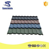 Roman roof tile/stone coated eagle roof tile/heat proof galvalume roof tile