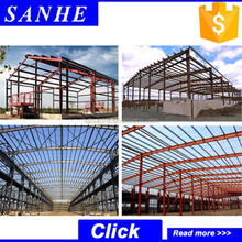 Ready made modular steel space frame buildings