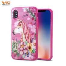 Ndhouse Oem Welcome Wholesale Products For Iphone X Tpu Pc Case Embossed Print