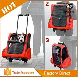 2016 Kind Pet Wholesale Beautiful Design And Good Quality Soft Sided Travel Pet Carrier