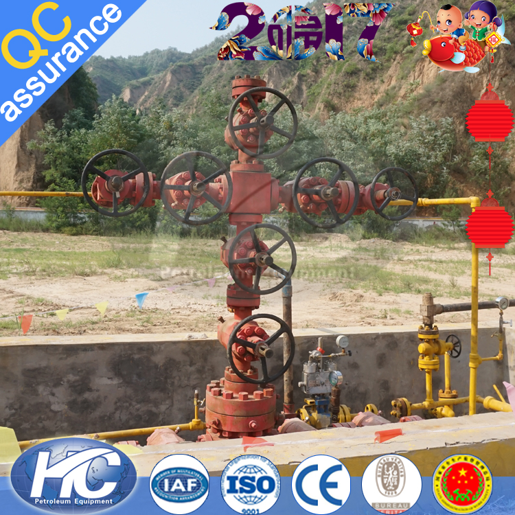 Factory direct price oil/gas production wellhead assemblies & christmas trees equipments