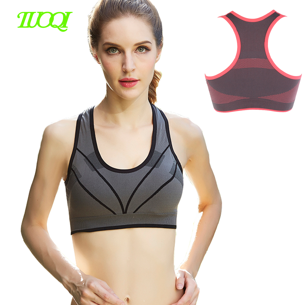 Hot Selling Seamless Fitness Ladies Sports Bra,Breathable Gym Bra