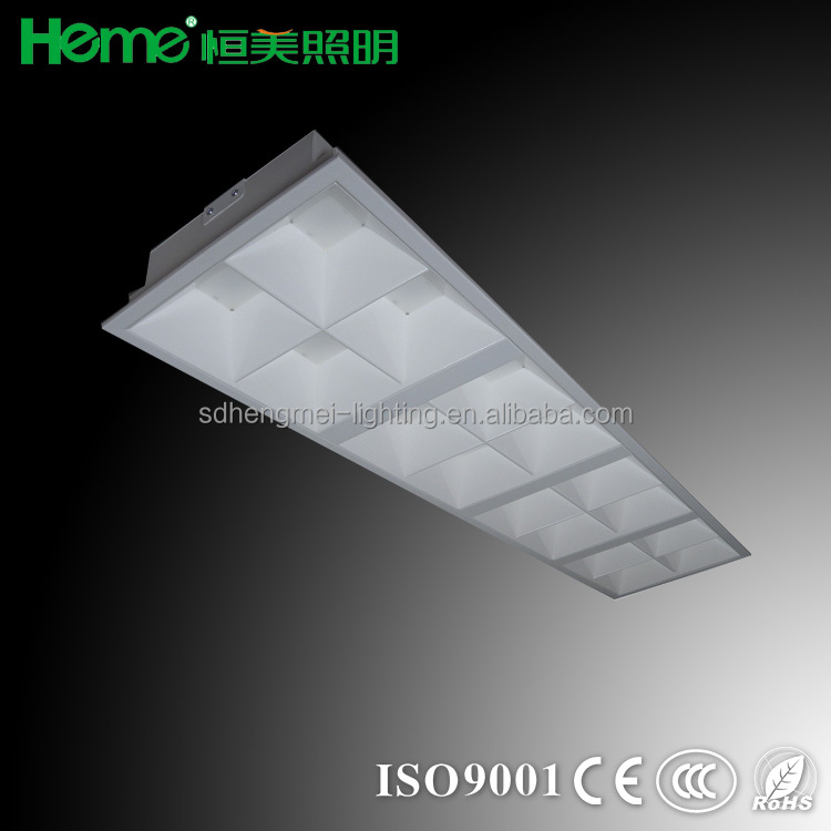 Euro popular LED New product 1200x300mm recessed louver luminaire lighting fitting