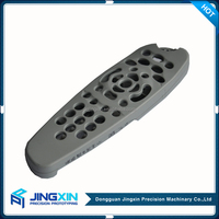 Jingxin Custom High Quality Chrome Plating Remote Control Plastic Case Enclosure Prototype