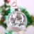 Clear Hollow Hanging Glass Ball Christmas Glass Ball