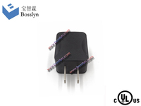 Over load Over Current Protect Phone Charger US Japan flat 2 pin us plug (ul culs certification)