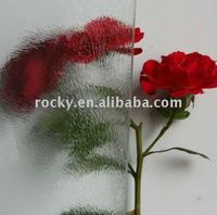 sell 6mm 5mm 4mm clear chinchilla pattern glass
