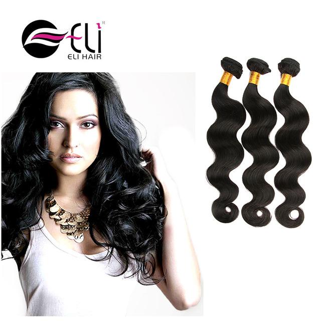 Hot Free Shipping 18 20 22 Inch 3 Pcs A Lot Virgin Peruvian Body Wave Hair Weave