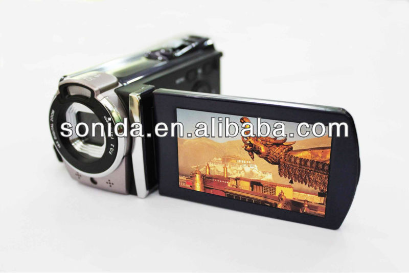 Latest Digital Video Camera&Handy cam Digital Camcorder with Lithium+4AAA Battery (HDV-602PX)