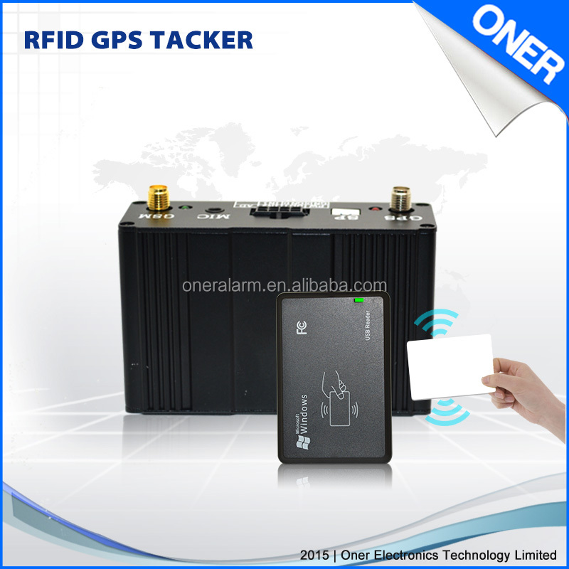 Certified GPS Vehicle Tracker with RFID Driver Identity