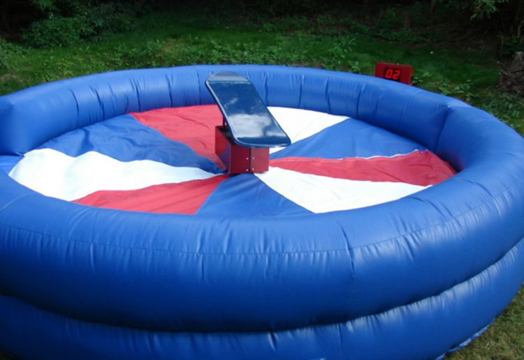 "Inflatable Mechanical Bull 40"" creeper"