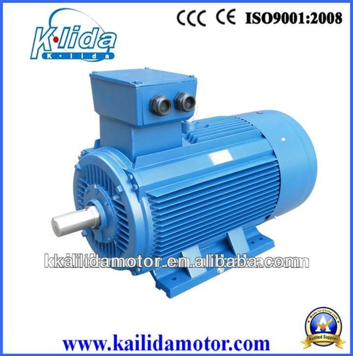 Y2 three phase induction motor electric motor 75kw 100hp