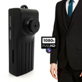 HD 1080P Button Hidden Audio Camera Security Cam DVR High Quality