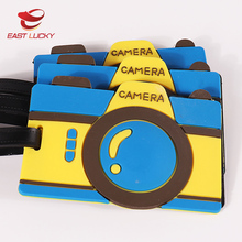 Camera shape travel suitcase luggage bag tags for airlines baggage labels