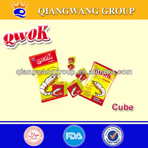 4G/CUBE*10*100 CHICKEN BOUILLON CUBE FOR FOOD