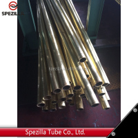 China manufacture copper tube / cu-ni 90/10 copper nickel alloy tube