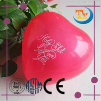 Hot selling heart shaped balloon for wedding