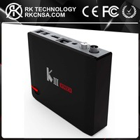 RK Original KIII Pro DVB Android 5.1 Amlogic S912 Octa Core KIII DVB S2 T2 Smart TV Box
