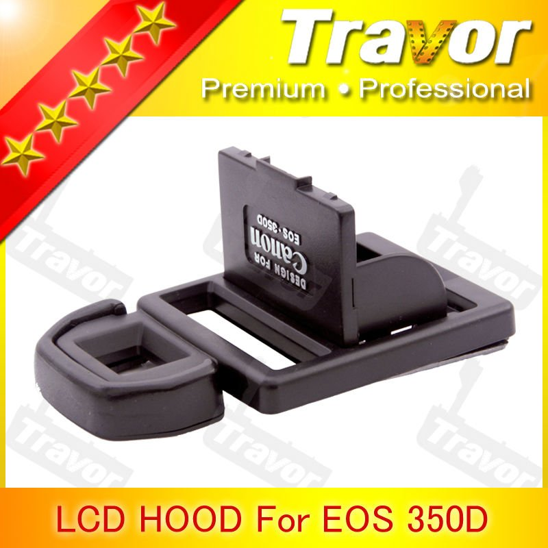 Professional Digital Camera LCD Hood for Canon 350D