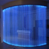 led fiber optic curtain lighting