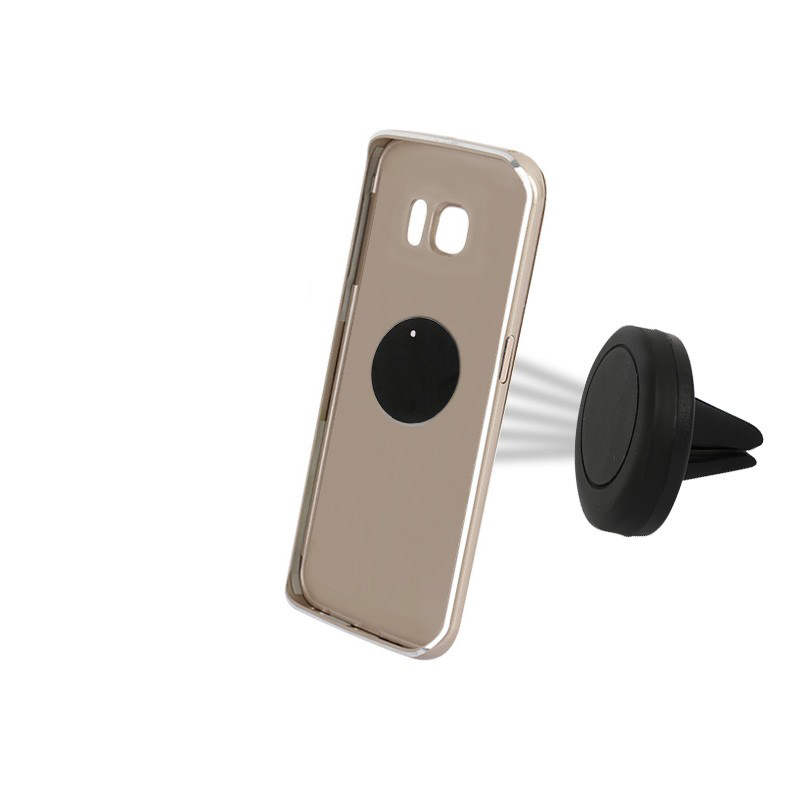 Cellphone Smartphone Metal Plate Airvent Mobile Magnetic Phone Holder For Car Dashboard