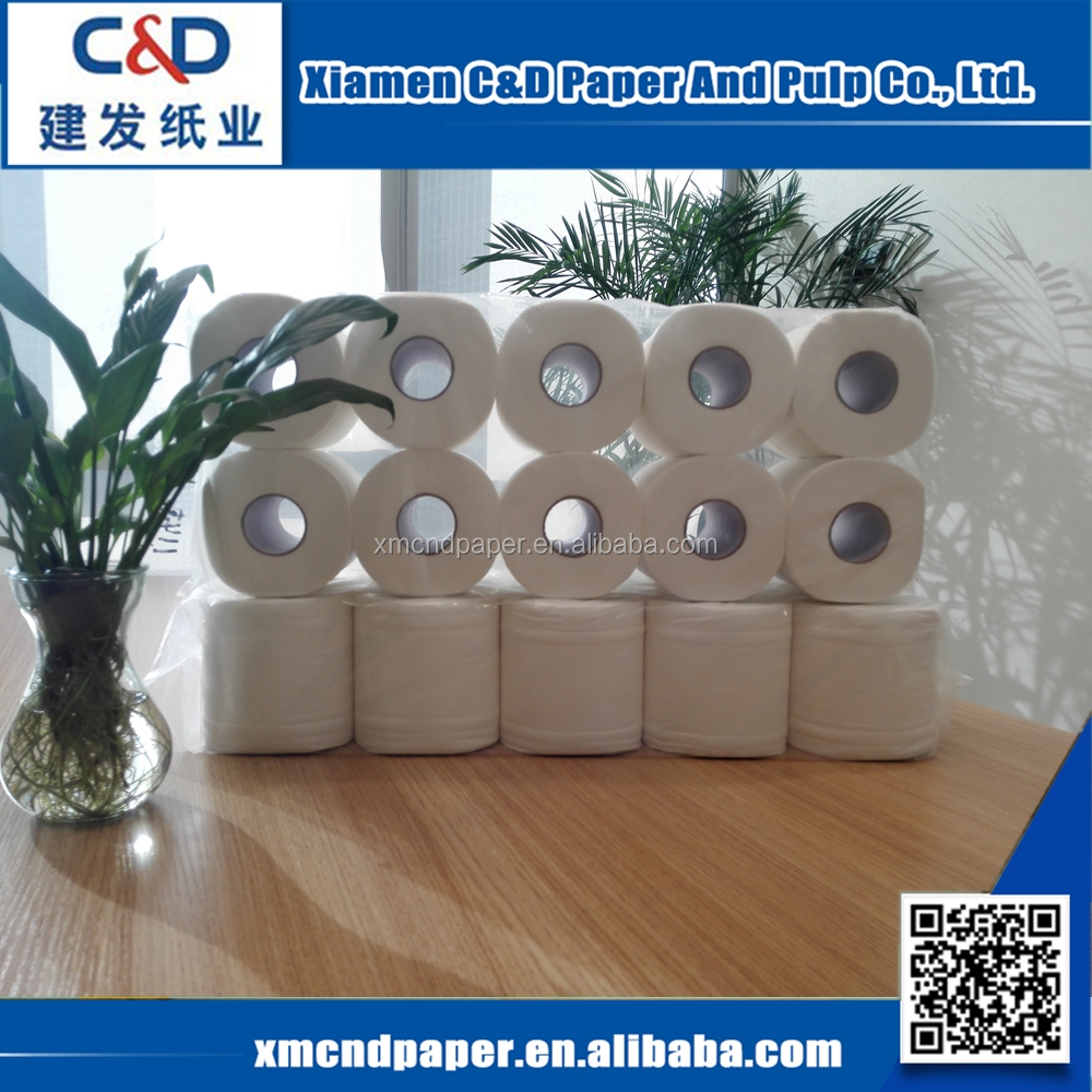 China Factory Wholesale Disposable Paper 1ply 2 ply 3ply Toilet Tissue Toilet Paper Roll
