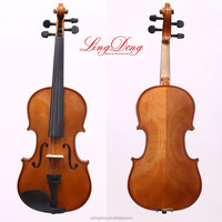 wooden not plywood violin for beginner can be customized sale in china