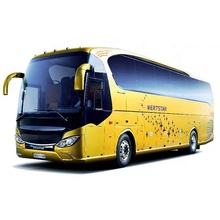 Dubai popular 48 seater 60 seater luxury coach bus with toilet