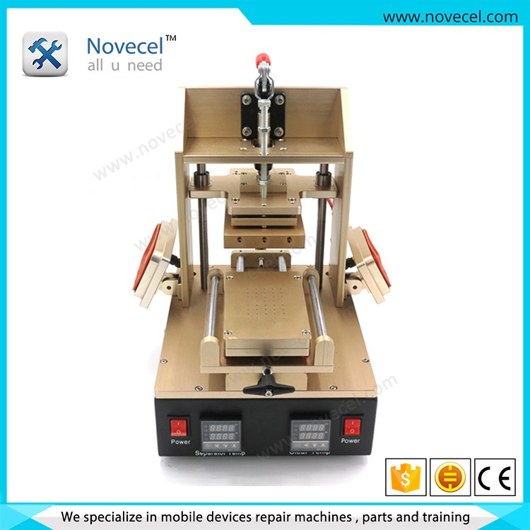 NOVECEL 5 in 1 high performance Automatic Frame Install Machine for iphone samsung with 5 free Moulds