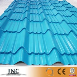 Prepaint color coating corrugated galvanized galvalume aluminum GI GL roofing sheet per meter price
