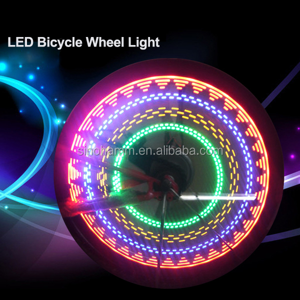 Fashion LED Bicycle Bike Cycling Wheel Light Safety Light Made in Shenzhen